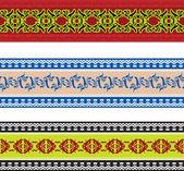 Seamless slavic pattern — Stock Vector