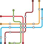 Metro — Stock Vector