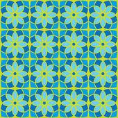 Seamless flower background — Stock Vector