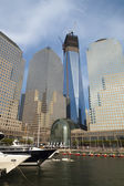 NEW YORK CITY - SEPTEMBER 17: One World Trade Center (formerly k — Стоковое фото
