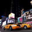 Stock Photo: NEW YORK CITY - SEPT 18: Times Square, featured with Taxi Cabs