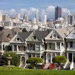 Stock Photo: SAN FRANCISCO - NOVEMBER 2012: Painted Ladies, SFrancisco-USA