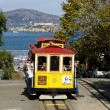 Stock Photo: SAN FRANCISCO - NOVEMBER 2012: Cable car tram, November 2nd,