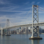 Постер, плакат: SAN FRANCISCO NOVEMBER 2012: The Bay Bridge November 2nd 201