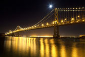 SAN FRANCISCO - NOVEMBER 2012: The Bay Bridge, November 2nd, 201 — Stock Photo
