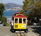 SAN FRANCISCO - NOVEMBER 2012: The Cable car tram, November 2nd, — Stock Photo
