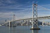SAN FRANCISCO - NOVEMBER 2012: The Bay Bridge, November 2nd, 201 — Stock Photo
