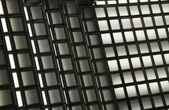 Texture of black and white squares — Stock Photo