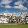 Stock Photo: SAN FRANCISCO, US- NOVEMBER 1, 2012: Painted Ladies
