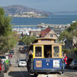 Stock Photo: SAN FRANCISCO - NOVEMBER 2012: Cable car tram.
