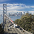 Stock Photo: SAN FRANCISCO - NOVEMBER 2012: Bay Bridge