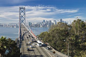 SAN FRANCISCO - NOVEMBER 2012: The Bay Bridge — Stock Photo