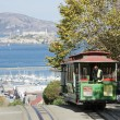 Stock Photo: SAN FRANCISCO - NOVEMBER 2012: Cable car tram