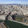 san francisco, ca, usa-october 26:san francisco giants stadium — Stock Photo
