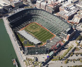 San francisco, ca, usa-octubre 26:san estadio de los giants francisco — Foto de Stock