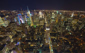 NEW YORK CITY, USA - SEPTEMBER: New York Uptown and Times Square — Foto Stock