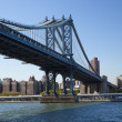 Stock Photo: New York ManhattBridge