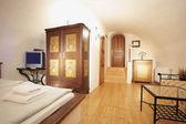 Historické obývací pokoj — Stock fotografie