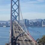 Постер, плакат: SAN FRANCISCO NOVEMBER 2012: The Bay Bridge on November 3rd 2