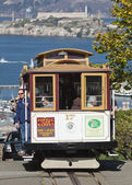 SAN FRANCISCO - NOVEMBER 2012: The Cable car tram, November 2nd, — Stock Photo