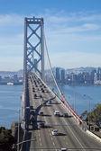 SAN FRANCISCO - NOVEMBER 2012: The Bay Bridge on November 3rd, 2 — Stock Photo
