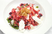 Beetroot Risotto — Stock Photo