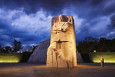 Washington, dc - 10 de octubre: monumento al dr. martin rey luther — Foto de Stock