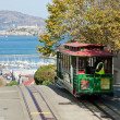 Stock Photo: SAN FRANCISCO - Cable car tram