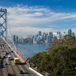 Stock Photo: SAN FRANCISCO - Bay Bridge
