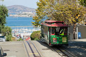SAN FRANCISCO - The Cable car tram — Stock Photo