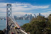 SAN FRANCISCO - The Bay Bridge — Stock Photo