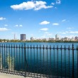 New York City, Central Park, Jacqueline Kennedy Onassis Reservoir — Stock Photo