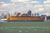 NEW YORK - Staten Island Ferry — Stock Photo