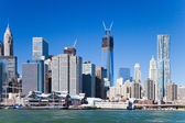 Freedom tower in New York City — Stock Photo