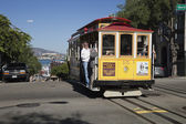 SAN FRANCISCO - NOVEMBER3: The Cable car tram, November 3rd, 201 — Stock Photo