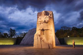 WASHINGTON, DC - OCTOBER 10: Memorial to Dr. Martin Luther King — Stock Photo