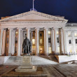 Stock Photo: Department of the Treasury - Washington D.C., USA