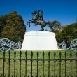Andrew Jackson in Lafayette Square, Washington D.C. — Stock Photo