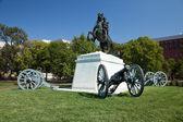 Andrew Jackson in Lafayette Square, Washington D.C. — Stock Photo