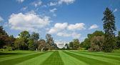 Vita huset, washington d.c. — Stockfoto
