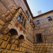 The Castle facade of Cesky Krumlov — ストック写真