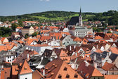 Cesky Krumlov the St. Vitus Church — Foto Stock