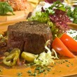 Beefsteak Mexican style — Stock Photo #35624727