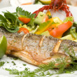 Grilled trout — Stock Photo #35624881