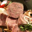 Stock Photo: Venison headcheese