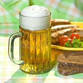 The mug of beer — Foto Stock