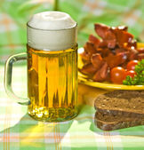 The mug of beer — Stock Photo