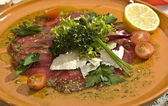 Carpaccio Mexican speciality — Stock Photo