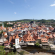 CESKY KRUMLOV - AUGUST 21, 2012: The Castle and City. The castle — Stock Photo