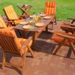 Luxury Garden furniture — Stock Photo